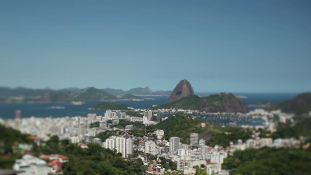 WS PAN Guanabara bay with Pao de Acucar mountain / Rio de Janeiro, Brazil