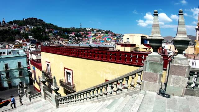 guanajuato city life - mexican ethnicity stock videos & royalty-free footage
