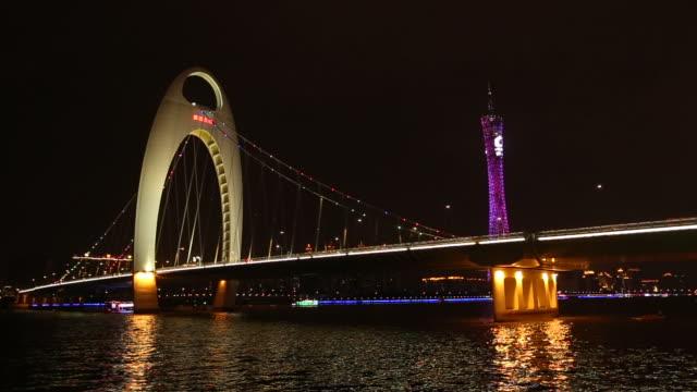 Guangzhou pearl river hunting DE bridge
