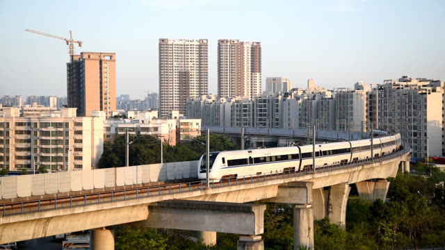 Guangzhou zhuhai intercity trains in zhuhai, China