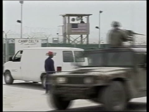 guantanamo bay gvs camp xray - camp x ray stock videos & royalty-free footage