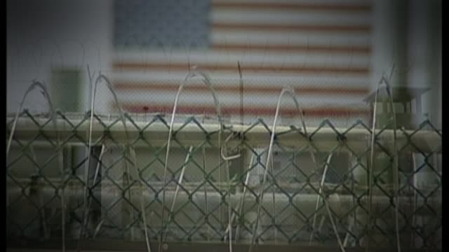 guantanamo detainee shaker aamer returns to uk cuba guantanamo bay detention camp camp delta camp delta / anonymous shots of detainees in exercise... - shaker aamer stock videos & royalty-free footage