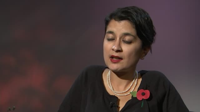 guantanamo detainee shaker aamer returns to uk london int shami chakrabarti interview sot - shaker aamer stock videos & royalty-free footage