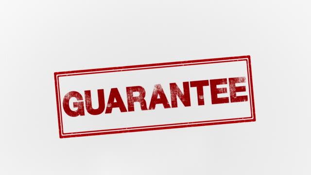 guarantee - seal stamp stock videos & royalty-free footage
