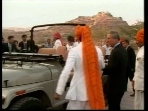 Guardian challenges court injunction POOL Prince Charles Prince of Wales along to opentop jeep during his visit to India TBV Charles greeted by...