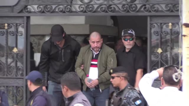 guatemala extradited to the united states marlon monroy aka the ghost an alleged drug lord accused of being the point man of the mexican sinaloa... - drug cartel stock videos and b-roll footage