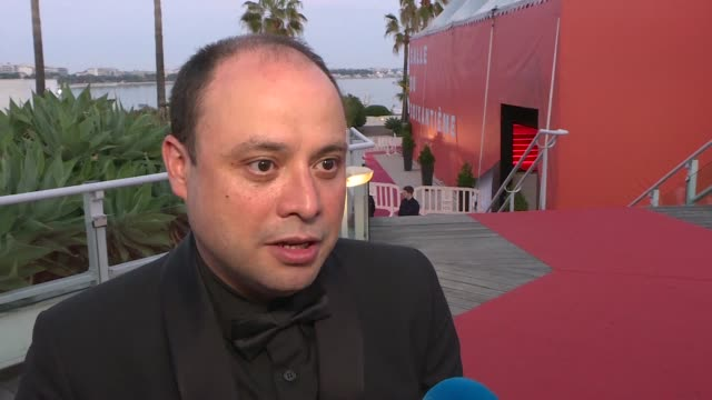 guatemalan director cesar diaz won the camera d'or prize at the 72nd cannes film festival for his film nuestras madres - 72nd international cannes film festival stock videos and b-roll footage