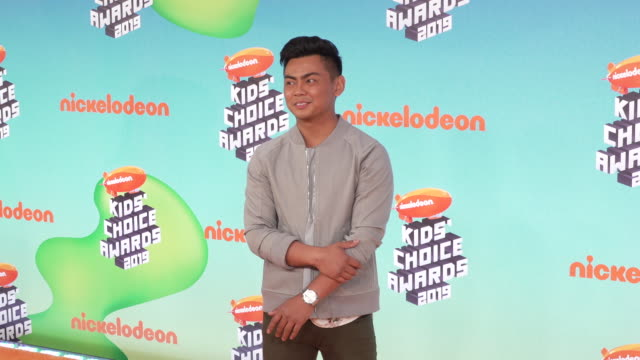 guava juice at the nickelodeon's 2019 kids' choice awards at galen center on march 23, 2019 in los angeles, california. - fruit juice stock videos & royalty-free footage