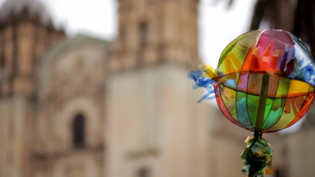 guelaguetza celebration - messicano video stock e b–roll