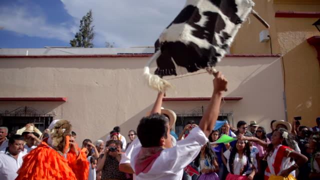 guelaguetza celebration - festliches ereignis stock-videos und b-roll-filmmaterial