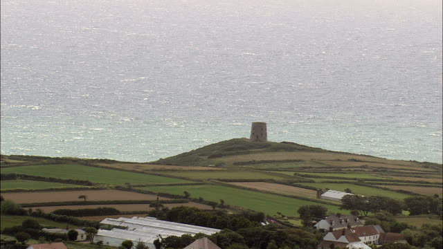 Guernsey's South Coast  - Aerial View - helicopter filming,  aerial video,  cineflex,  establishing shot,  Guernsey