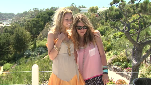 guest and dani stahl at the malibu clambake honoring the lia sophia jewelry collection cape town iii at malibu ca - stahl stock videos & royalty-free footage