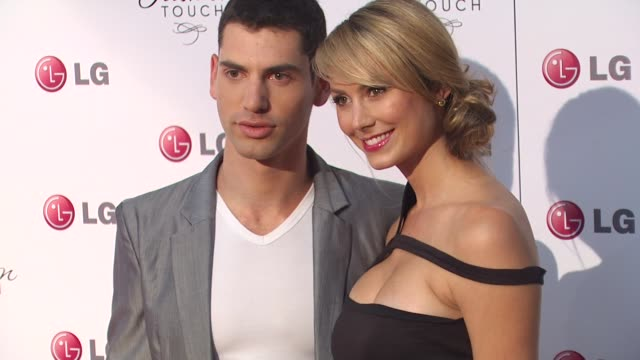 Guest and Stacy Keibler at the A Night Of Fashion And Technology With LG Mobile Phones at West Hollywood CA