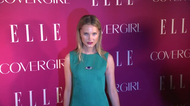 guest at 4th annual elle women in music celebration arrivals at the edison ballroom on april 10 2013 in new york new york - edison ballroom stock videos & royalty-free footage