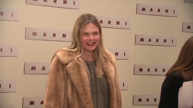 guest at marni fragrance launch at tbd on february 05 2013 in new york new york - marni stock videos & royalty-free footage