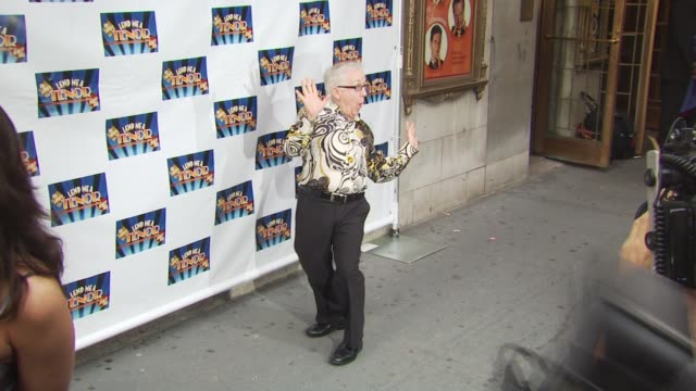 guest at the opening of 'lend me a tenor' arrivals at new york ny - lend me a tenor stock-videos und b-roll-filmmaterial