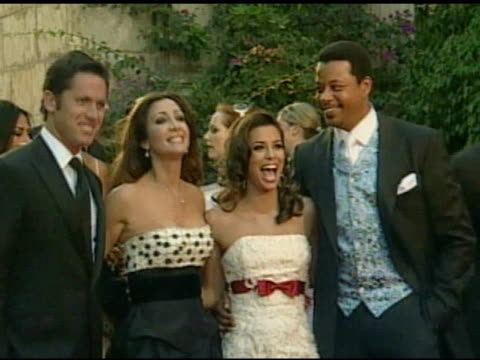 guest, maria bravo, eva longoria, and terrence howard at the playing for good philanthropic summit 2007 in mallorca on september 1, 2007. - terrence howard stock videos & royalty-free footage