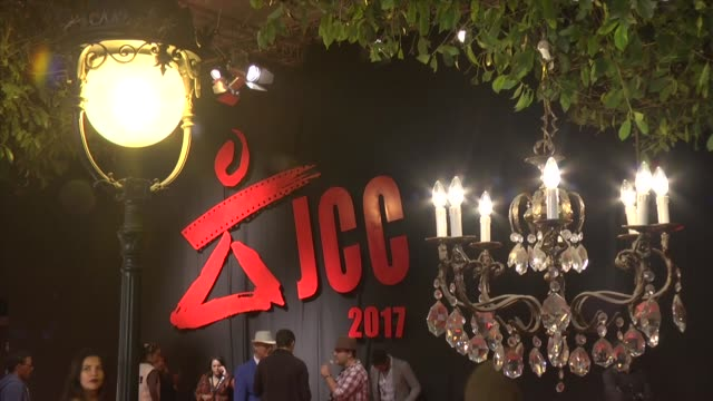 guests arrive for the opening ceremony of the 28th carthage film festival on november 04 2017 in tunis tunisia - carthage tunisia stock videos & royalty-free footage