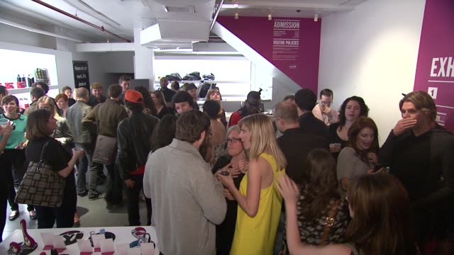 guests at ky brand celebrates the launch of the big fun sexy sex book with coauthors lisa rinna and dr ian kerner at the museum of sex on in new york... - lisa rinna stock videos and b-roll footage