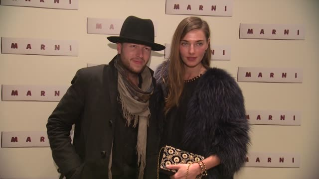 guests at marni fragrance launch at tbd on february 05 2013 in new york new york - marni stock videos & royalty-free footage