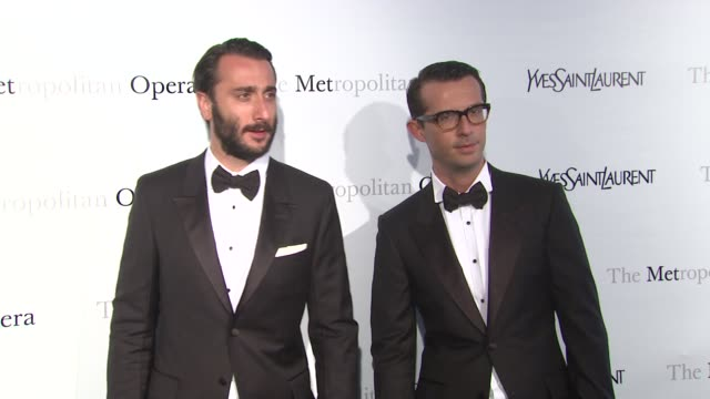 Guests at Metropolitan Opera Gala Premiere Of Jules Massenet's Manon at The Metropolitan Opera House on March 26 2012 in New York New York