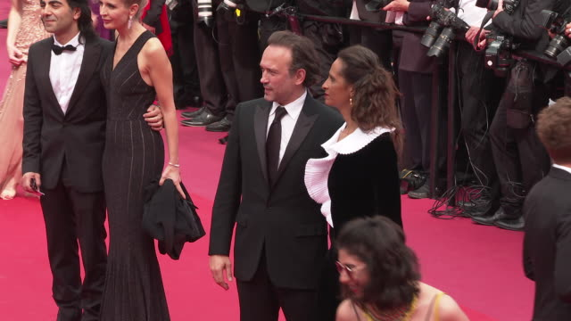 guests at 'once upon a time in hollywood ' red carpet arrivals the 72nd cannes film festival at grand theatre lumiere on may 21 2019 in cannes france - grand theatre lumiere stock videos & royalty-free footage