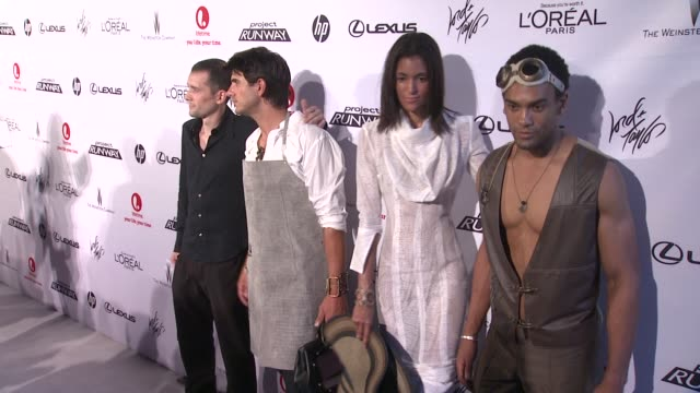 guests at project runway 10th anniversary party at highline on july 17 2012 in new york new york - project runway stock videos and b-roll footage