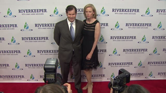 guests at riverkeeper's 50th anniversary fishermen's ball at pier sixty at chelsea piers on may 18, 2016 in new york city. - chelsea piers stock videos & royalty-free footage