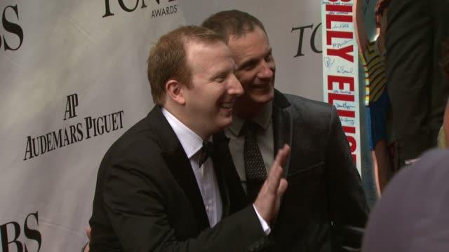Guests at the 63rd Annual Tony Awards Red Carpet at New York NY