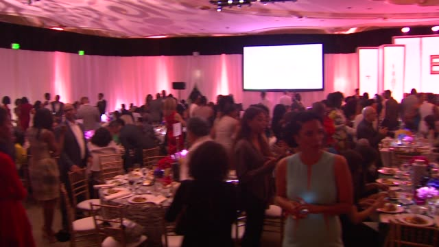 guests at the 7th annual essence black women in hollywood luncheon at beverly hills hotel on february 27, 2014 in beverly hills, california. - beverly hills hotel stock videos & royalty-free footage
