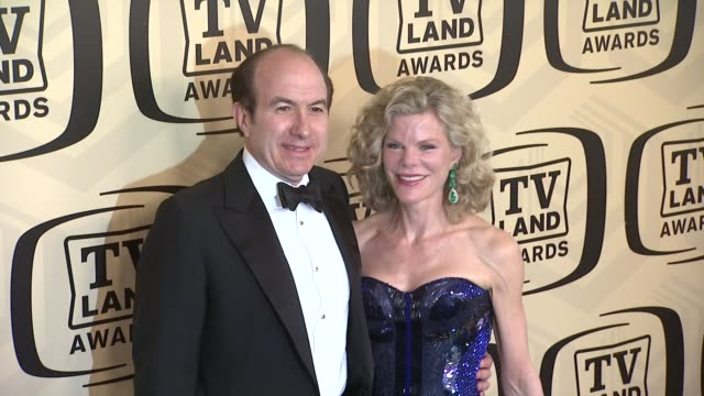 guests at tv land awards 10th anniversary arrivals at lexington avenue armory on april 14 2012 in new york ny - tv land awards stock videos and b-roll footage