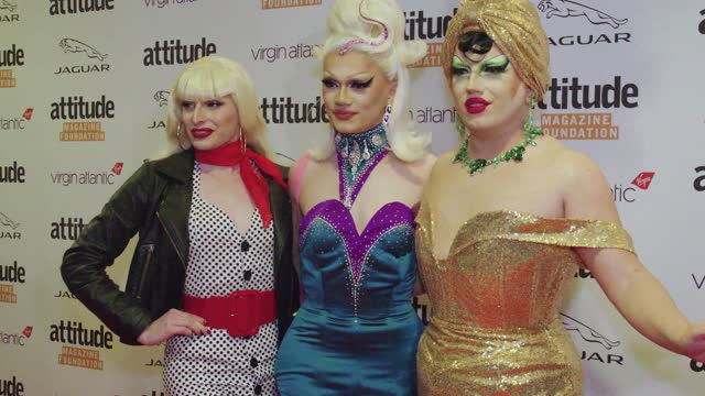 guests attends the virgin atlantic attitude awards 2021 at the roundhouse on october 06, 2021 in london, england. (footage by david sampedro/getty... - attitude stock videos & royalty-free footage