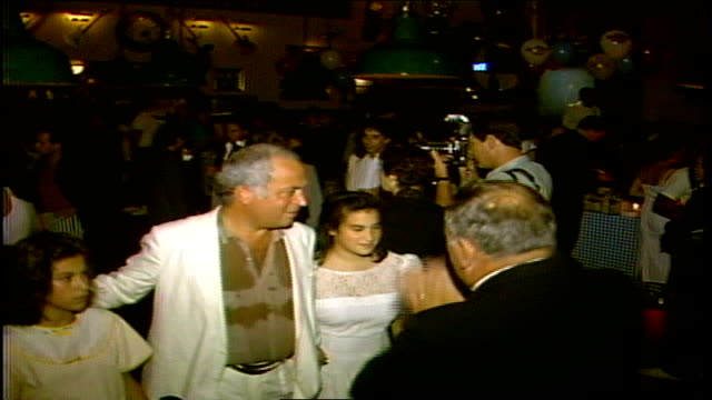 Guests inside the Hard Rock Cafe during the MTV Video Music Awards post party