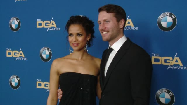stockvideo's en b-roll-footage met gugu mbatharaw and matthew heineman at the 70th annual dga awards at the beverly hilton hotel on february 03 2018 in beverly hills california - beverly hilton hotel