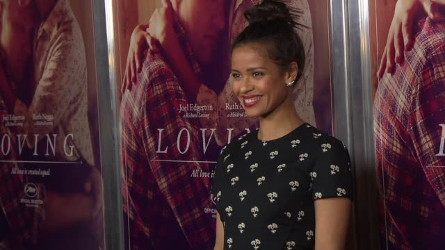 Gugu MbathaRaw at Loving New York Premiere Presented by Focus Features at Landmark Sunshine Cinema on October 26 2016 in New York City