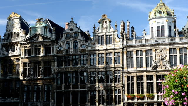 Guildhalls à la Grand Place de Bruxelles, Belgique
