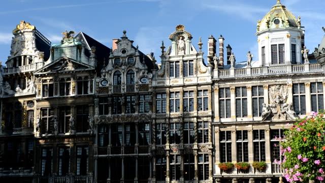 Guildhalls al Grand Place di Bruxelles, Belgio
