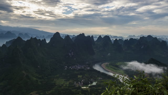 Guilin landscape,China