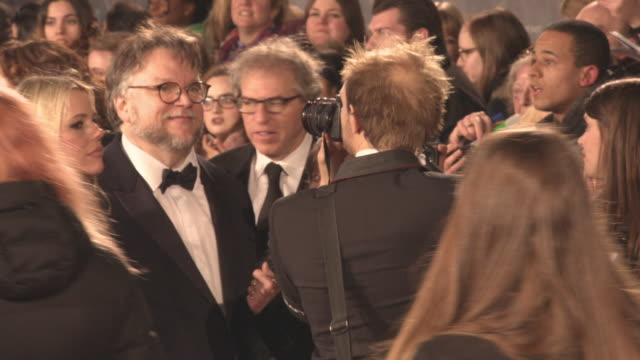 Guillermo Del Toro at the EE British Academy Film Awards at Royal Albert Hall on February 18 2018 in London England