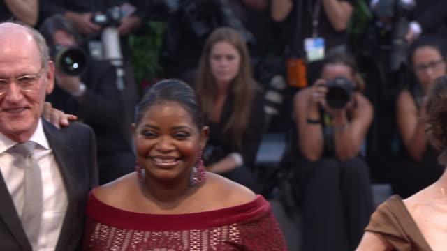 Guillermo Del Toro Sally Hawkins Octavia Spencer Richard Jenkins Alexandre Desplat at 'The Shape of Water' Red Carpet 74th Venice International Film...