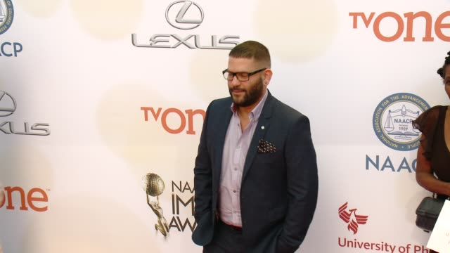 stockvideo's en b-roll-footage met guillermo diaz at the 46th annual naacp image awards arrivals at pasadena civic auditorium on february 06 2015 in pasadena california - pasadena civic auditorium