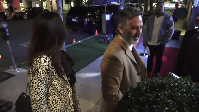 guillermo zapata at the bella los angeles men's cover launch party hosted by james brolin at the harmonist in los angeles in celebrity sightings in... - james brolin stock videos & royalty-free footage