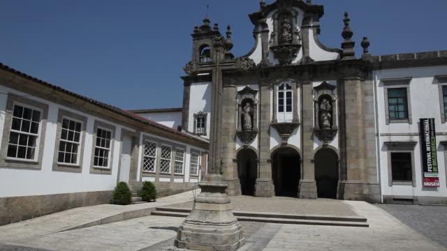 Guimaraes, view of museum route of Santo Antonio dos Capuchos convent, Guimaraes, UNESCO World Heritage