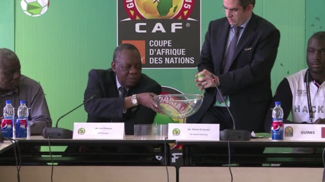guinea qualified for the africa cup of nations quarter finals in bizarre fashion on thursday after a drawing of lots was required to separate them... - bizarre fashion stock videos and b-roll footage