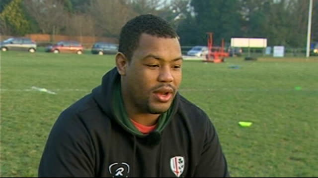 Guinness Premiership London Irish profile Steffon Armitage training Steffon Armitage interview SOT Armitage training Catt interview SOT Armitage...
