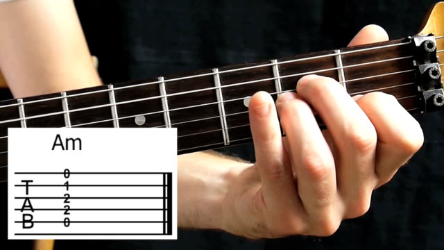guitar chords with tab - fretboard stock videos & royalty-free footage