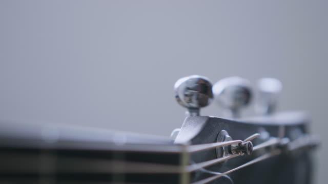 guitar in musician hands