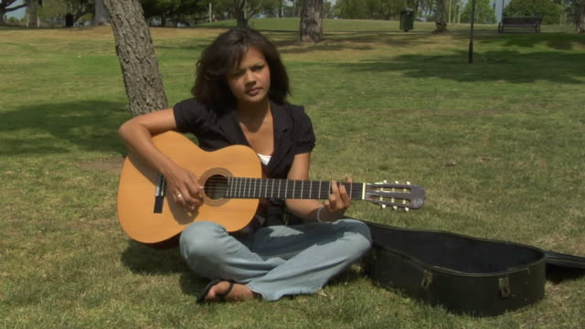 guitar in the park
