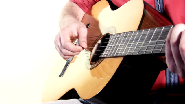 guitar player (hd) - soloist stock videos & royalty-free footage