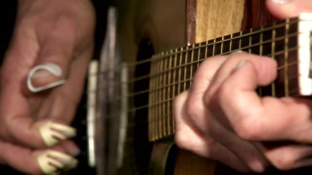 guitar player - keithmckenzie stock videos & royalty-free footage